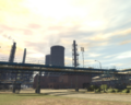 Acter Nuclear Power Plant GTAIV from ground east.png