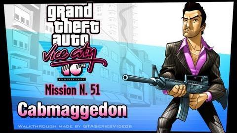 GTA Vice City - iPad Walkthrough - Mission 51 - Cabmaggedon
