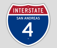 1957 Style Interstate 4 Shield