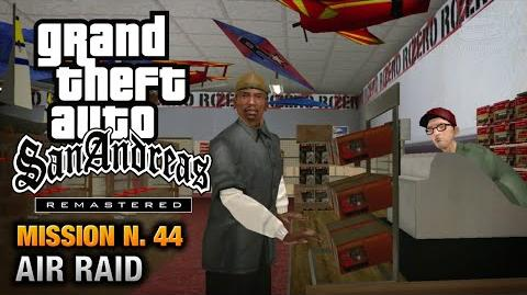 GTA San Andreas Remastered - Mission 44 - Air Raid (Xbox 360 PS3)