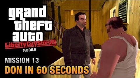 GTA Liberty City Stories Mobile - Mission 13 - Don in 60 Seconds
