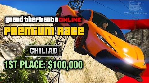 GTA Online - Premium Race 10 - Chiliad (Cunning Stunts)