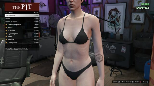File:Tattoo GTAV-Online Female Left Arm Tribal Flower.jpg