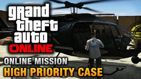 GTA Online - Mission - High Priority Case Hard Difficulty