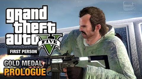 GTA 5 - Prologue First Person Gold Medal Guide - PS4