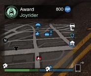 Destroy Vehicle Target GTAO Joyrider Award