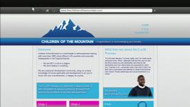 Www.childrenofthemountain.com-FrontPageWebsite-GTAV