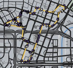 GTAO-Cheetah Grand Prix Map