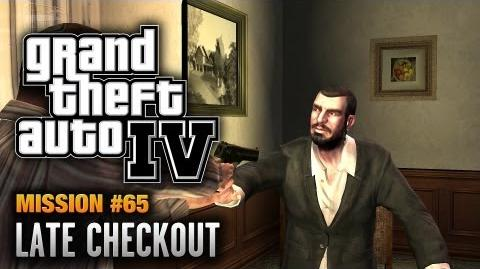GTA 4 - Mission 65 - Late Checkout (1080p)