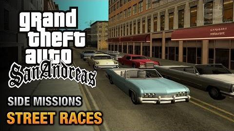 GTA San Andreas - Street Races