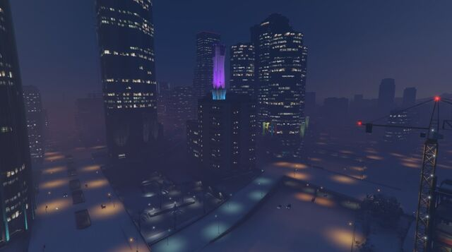 File:DowntownLS-GTAO-Snow-Night.jpg