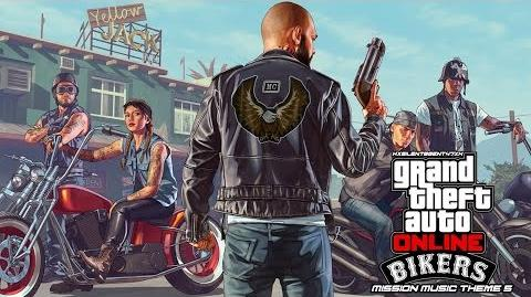 Grand Theft Auto GTA V 5 Online Bikers - Mission Music Theme 5