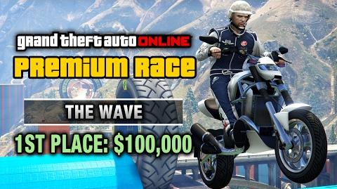 GTA Online - Premium Race 26 - The Wave (Cunning Stunts)