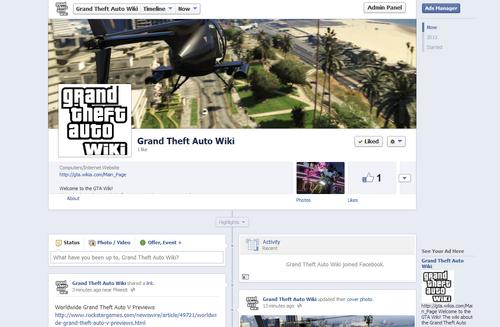 Facebook-GTA Wiki