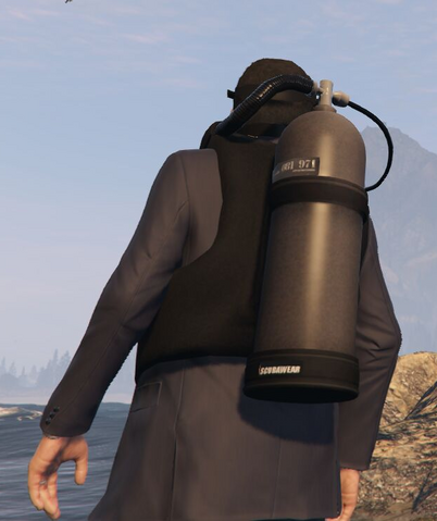 File:Scuba Suit GTAVpc Michael worn over a suit Back View.png