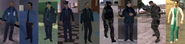 New peds - cop,SWAT,FBI,Army,paramedics