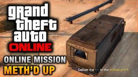 GTA Online - Mission - Meth'd Up Hard Difficulty
