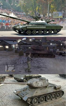 GTA V Tank Comparison