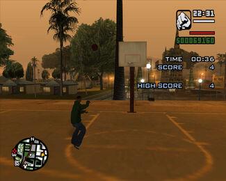 Basketball-GTASA-challenge