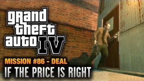GTA 4 - Mission 86 - If the Price is Right Deal (1080p)