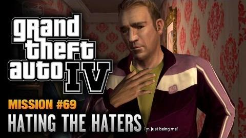GTA 4 - Mission 69 - Hating the Haters (1080p)