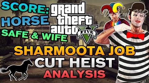 "GTA V - ""The Sharmoota Job"" Cut Heist Analysis"