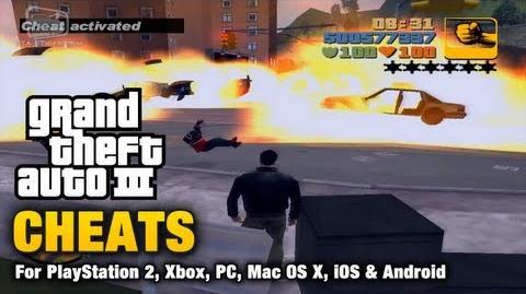 GTA 3 Cheats