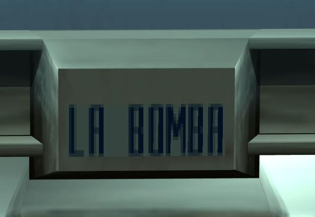 File:LA BOMBA plate.jpg