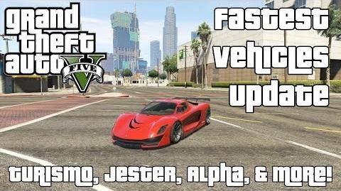 Turismo, Jester, Alpha & More! - The Fastest Vehicles in GTA V Update 1