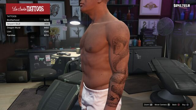 File:Tattoo Franklin Left Arm GTAV Serpent Skull.jpg
