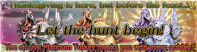 Thanksgiving Turkey Hunt Banner