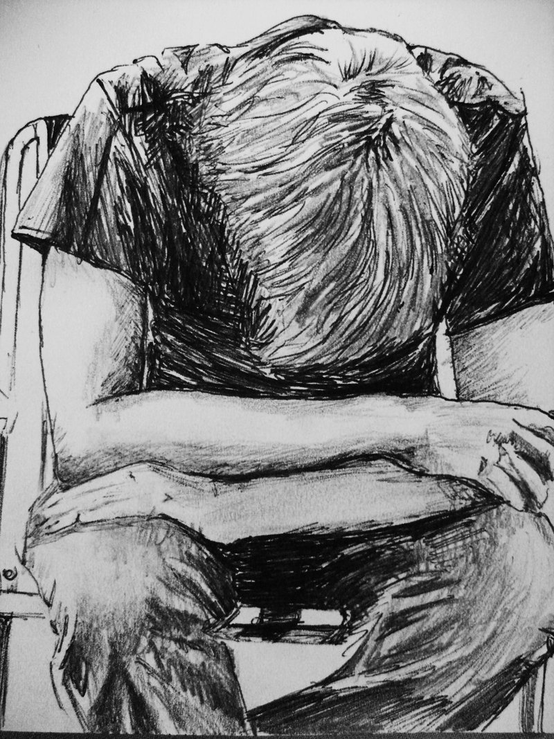 Image - Sad-Lonely-Boy-Drawing-1.jpg | Guardians of Camoria Wikia ...