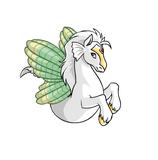 Peophin shell wings