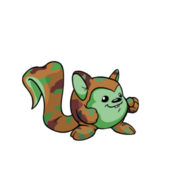 Camouflage Meerca