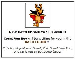 Count von roo battledome gain