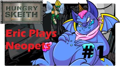 Let's Play Neopets 1 Hungry Skeith