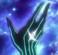 Shuu aborbs his original King's Power in his void
