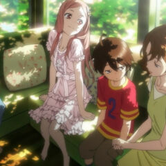 Shu, Mana, and Gai enjoying their summer