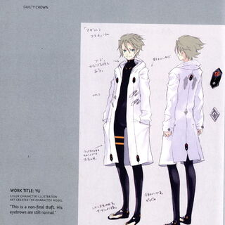 Yuu's Character Design 2