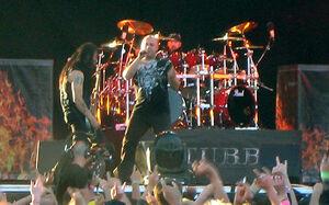 Disturbed Sweden Rock 2008