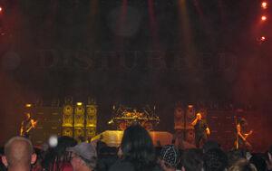 Disturbed Dallas 2008