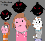 The mystery of fangy poster