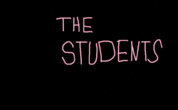 The Students Title Card