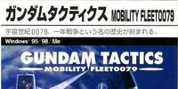 Gundam Tactics Mobility Fleet 0079