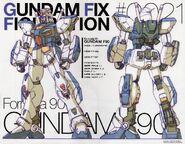 GFF - F90 - Gundam Formula F90
