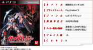 PS3 MSGUC - Game Details