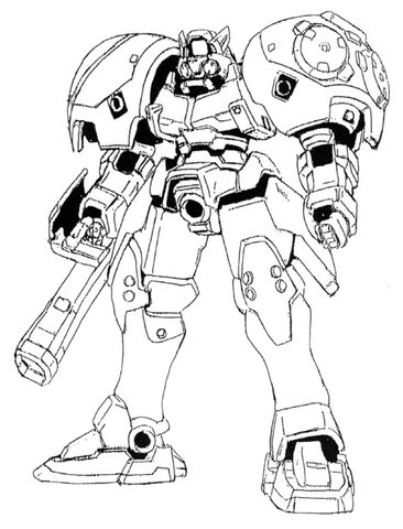 File:OZ-02MD Virgo Front View Lineart.jpg