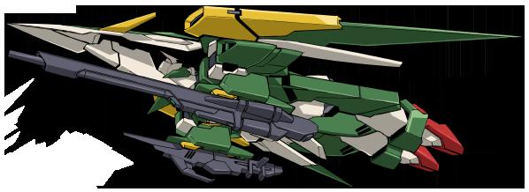 File:Wing Gundam Fenice Rinascita - MA Mode Back.png