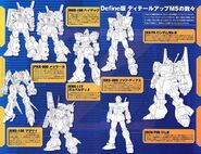 Zeta Gundam Define MS File