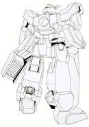 GN-008 - Seravee Gundam without Seraphim